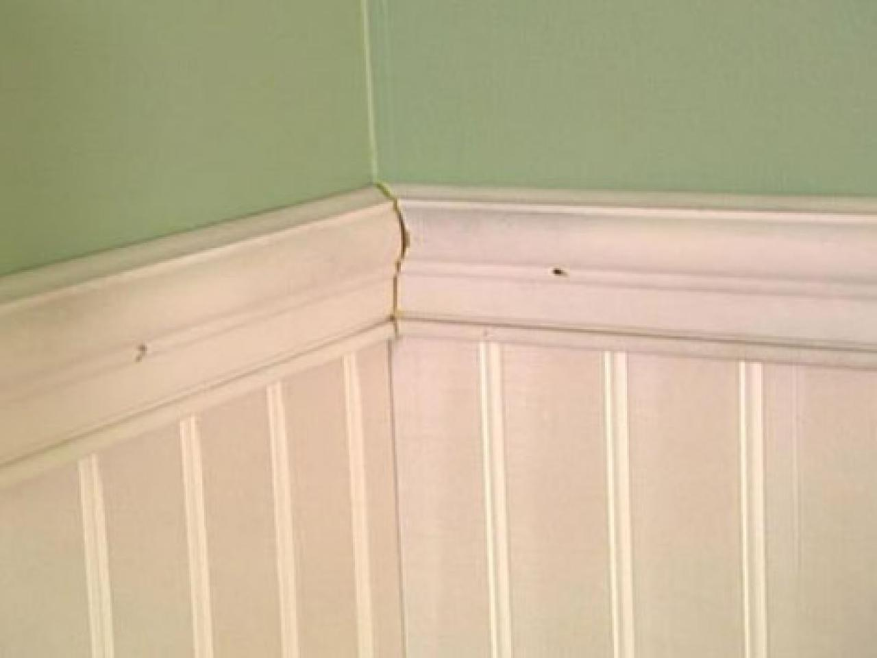 How To Install Beadboard Wainscoting How Tos Diy