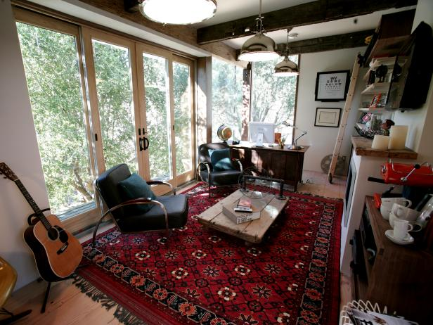Rainn Wilson's Home Office