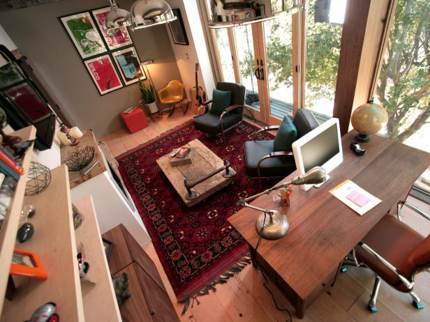 Man Cave: Rainn Wilson's Home Office