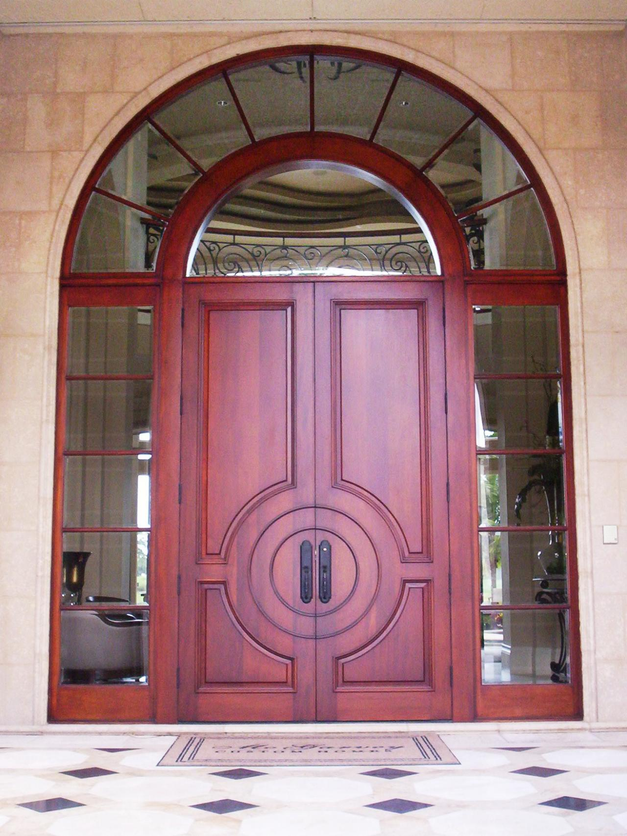 Entry doors portal to the soul of your house diy for Entrance double door designs for houses