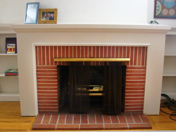 Fireplace makeovers before and afters from house crashers house fireplace makeovers before and afters from house crashers house crashers diy solutioingenieria Choice Image