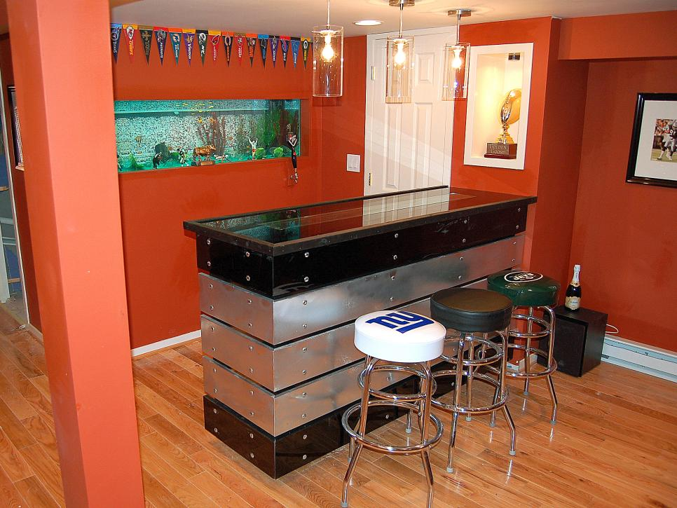 Man Caves - Pool Tables and Bars | Man Caves | DIY