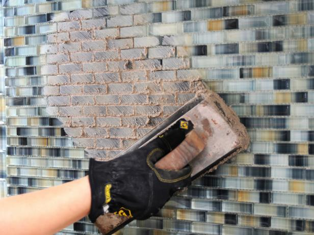 How to install a tile backsplash how tos diy apply grout to tiled walls solutioingenieria Image collections