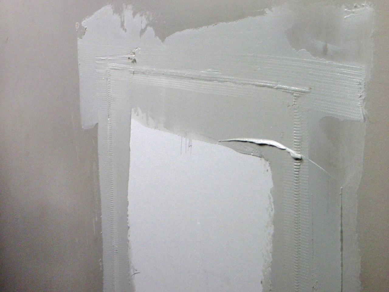 Drywall Gypsum Walls : How to repair cracks and holes in drywall tos diy