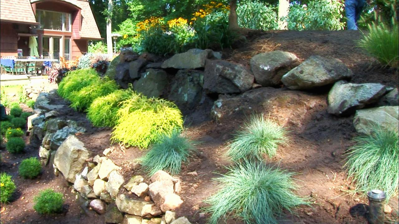 Rock landscaping ideas diy for Landscaping rocks adelaide