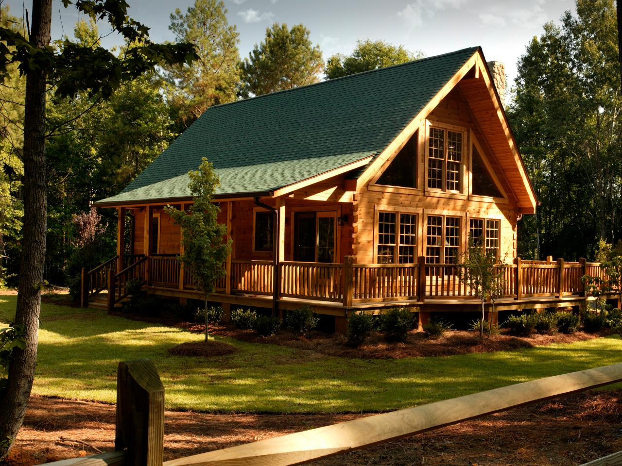 Dream Log Homes | DIY Network Blog Cabin 2010 | DIY
