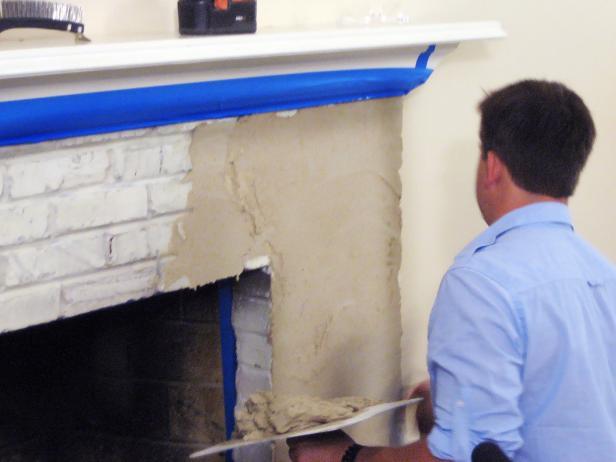 Resurface A Fireplace With Stucco How Tos Diy