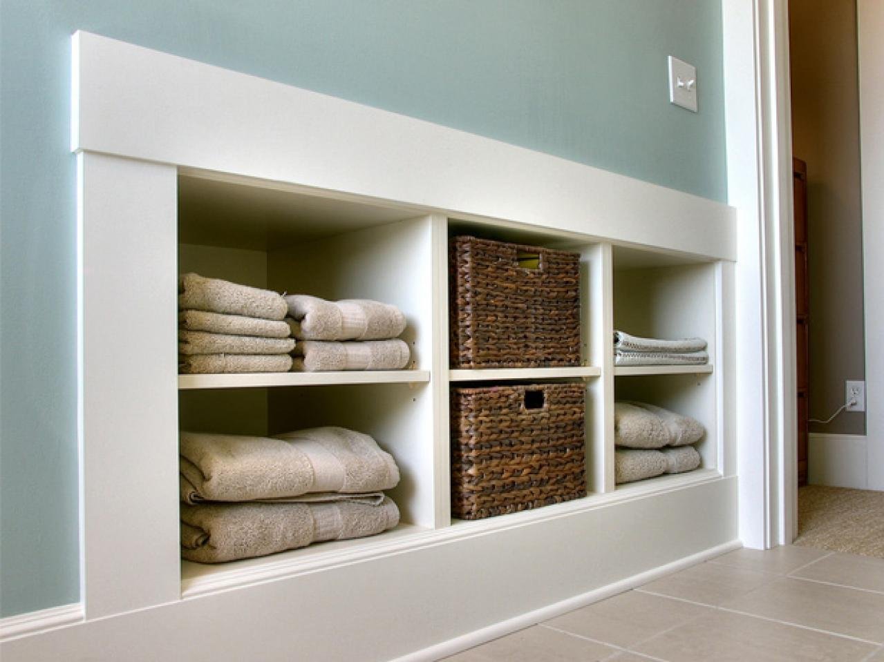 Laundry Room Storage Ideas | DIY