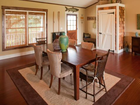 Dining Room from DIY Network Blog Cabin 2010