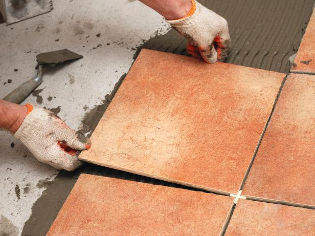 The Perfect Way to Lay Tile