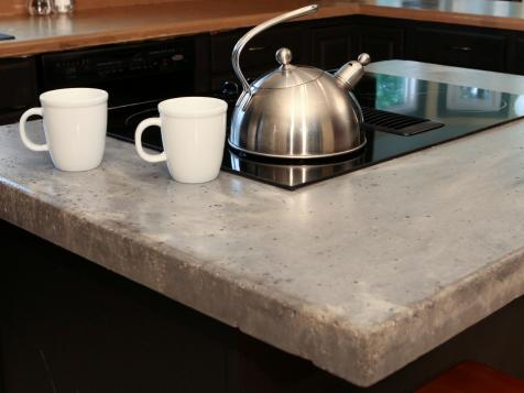 Choosing Countertops: Concrete