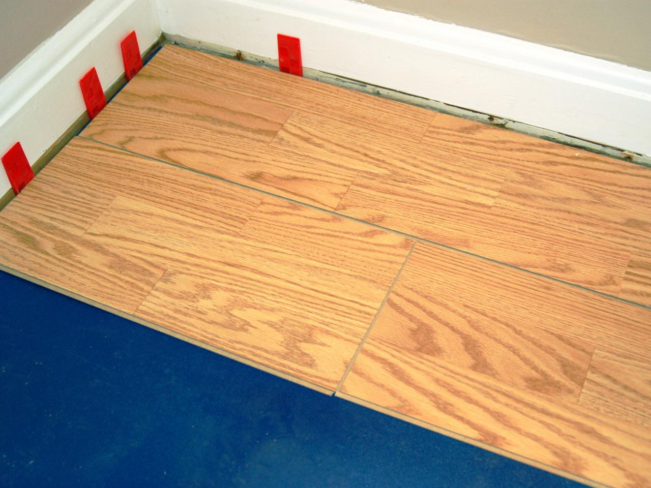 How To Install A Laminate Floating Floor Howtos DIY - Install vinyl flooring over plywood subfloor