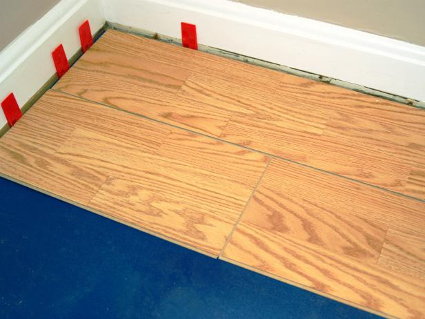 Install a Laminate Floating Floor