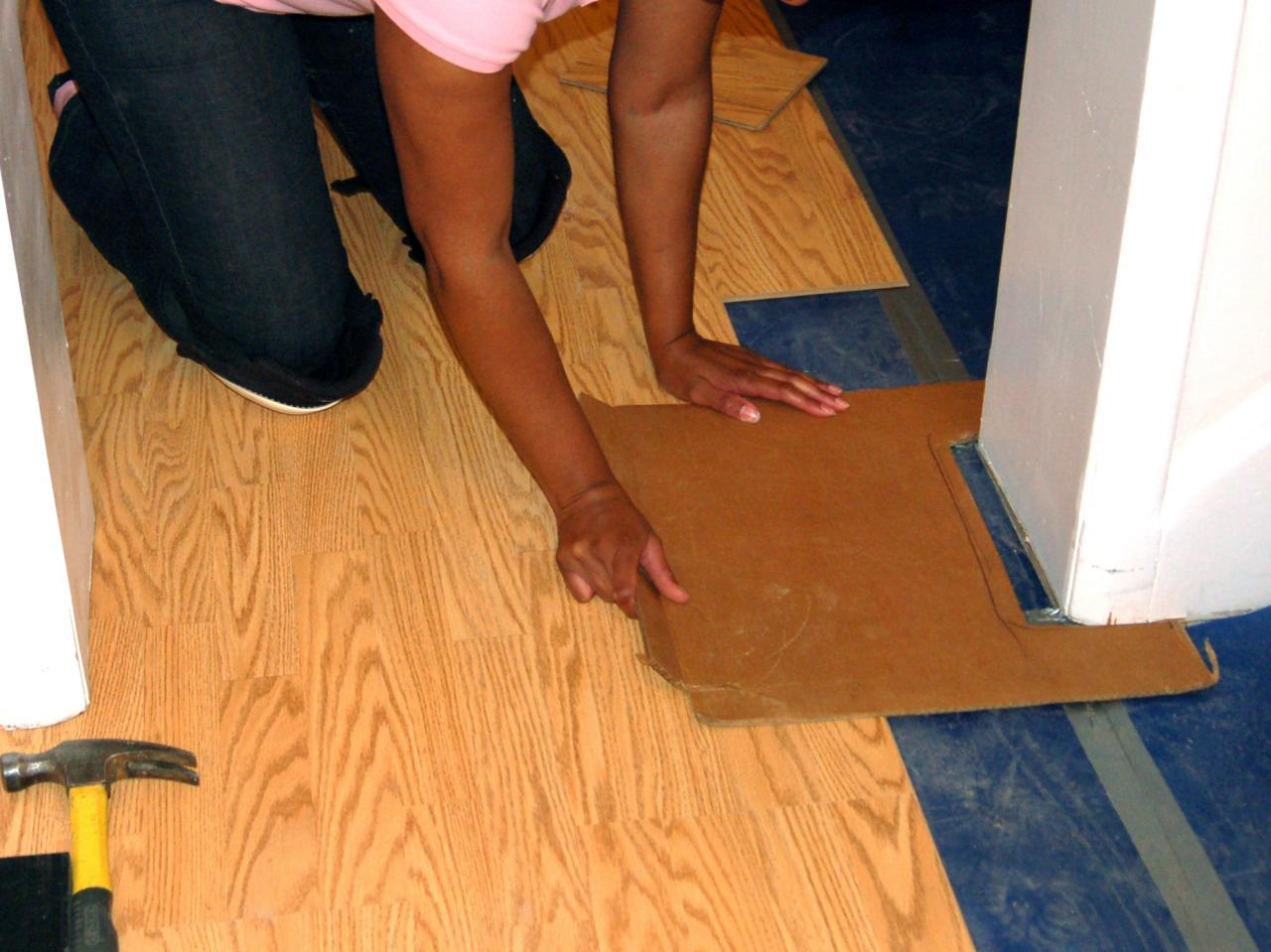 Step 9 Although Installing A Laminate Floor
