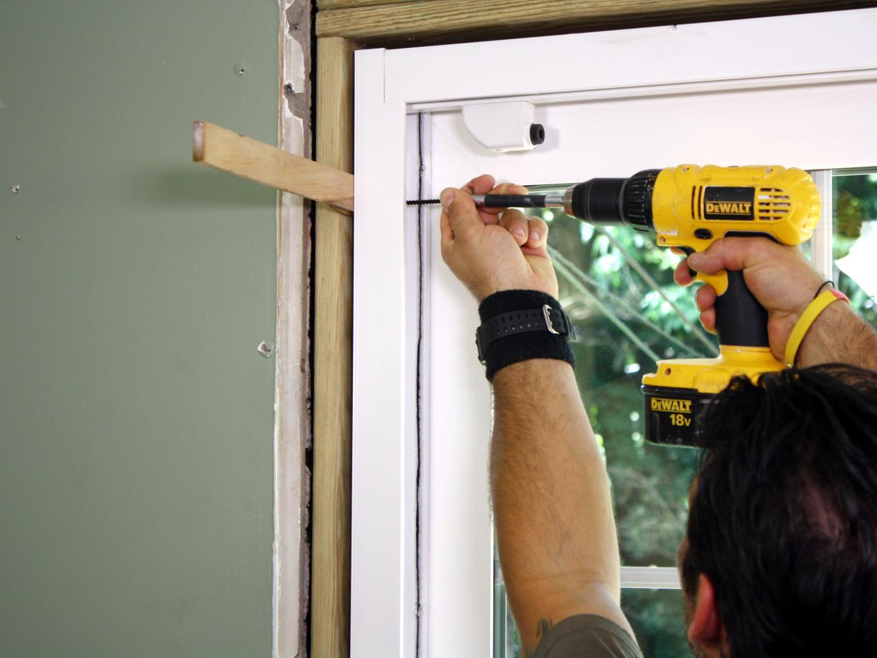 How To Install Sliding Glass Doors How Tos Diy