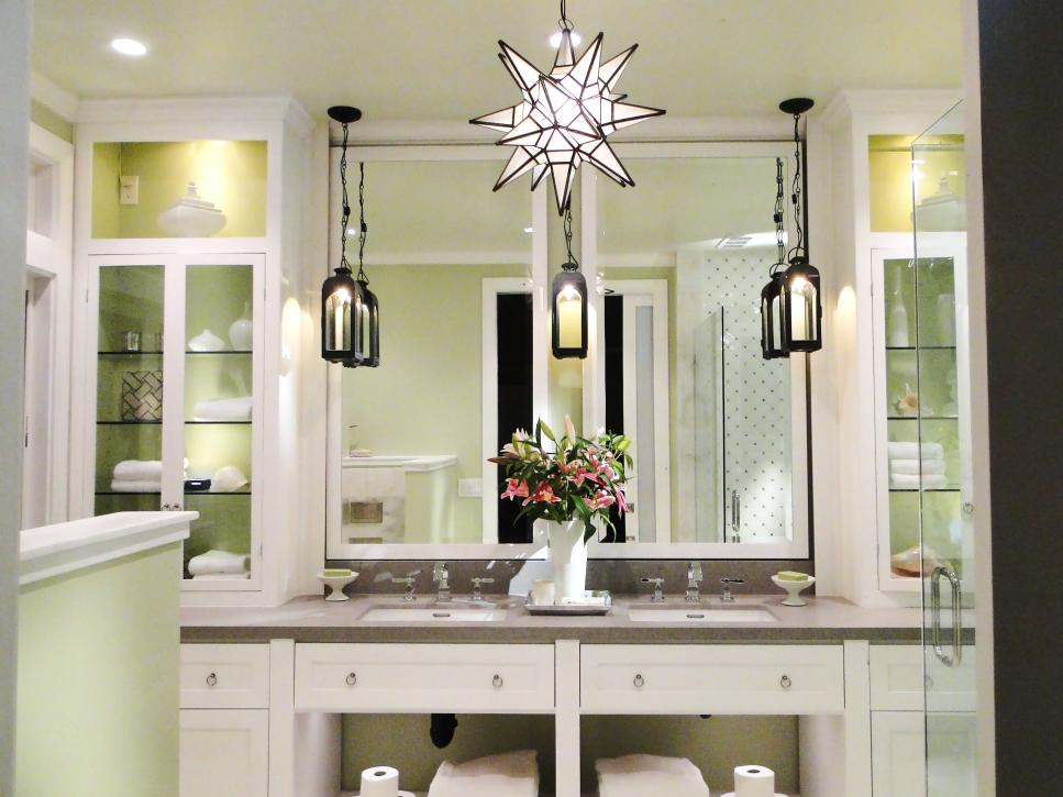 Pictures Of Bathroom Lighting Ideas And Options DIY - Bathroom vanity lights with shades