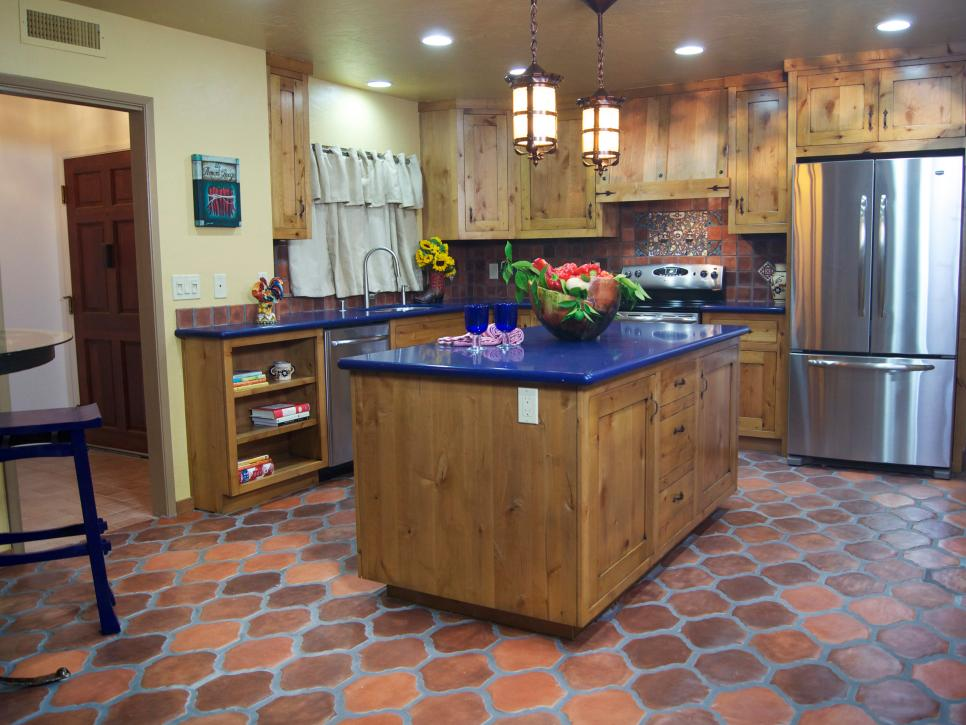 Superior From Outdated Kitchen To Colorful Spanish Style Cocina Great Ideas