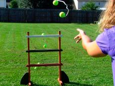 Ladder golf is a fun game the whole family can play. Learn how to make a set for your backyard.