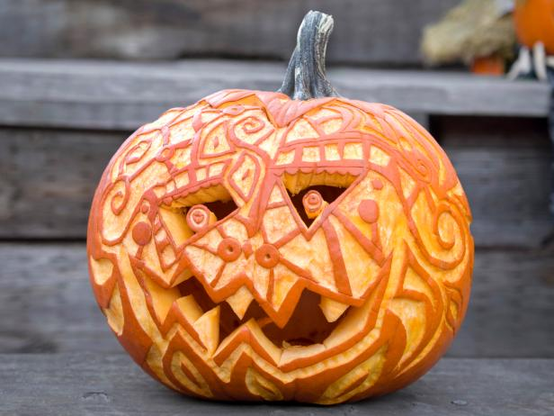 17 Last Minute Jack O Lantern Ideas For Halloween Hgtv