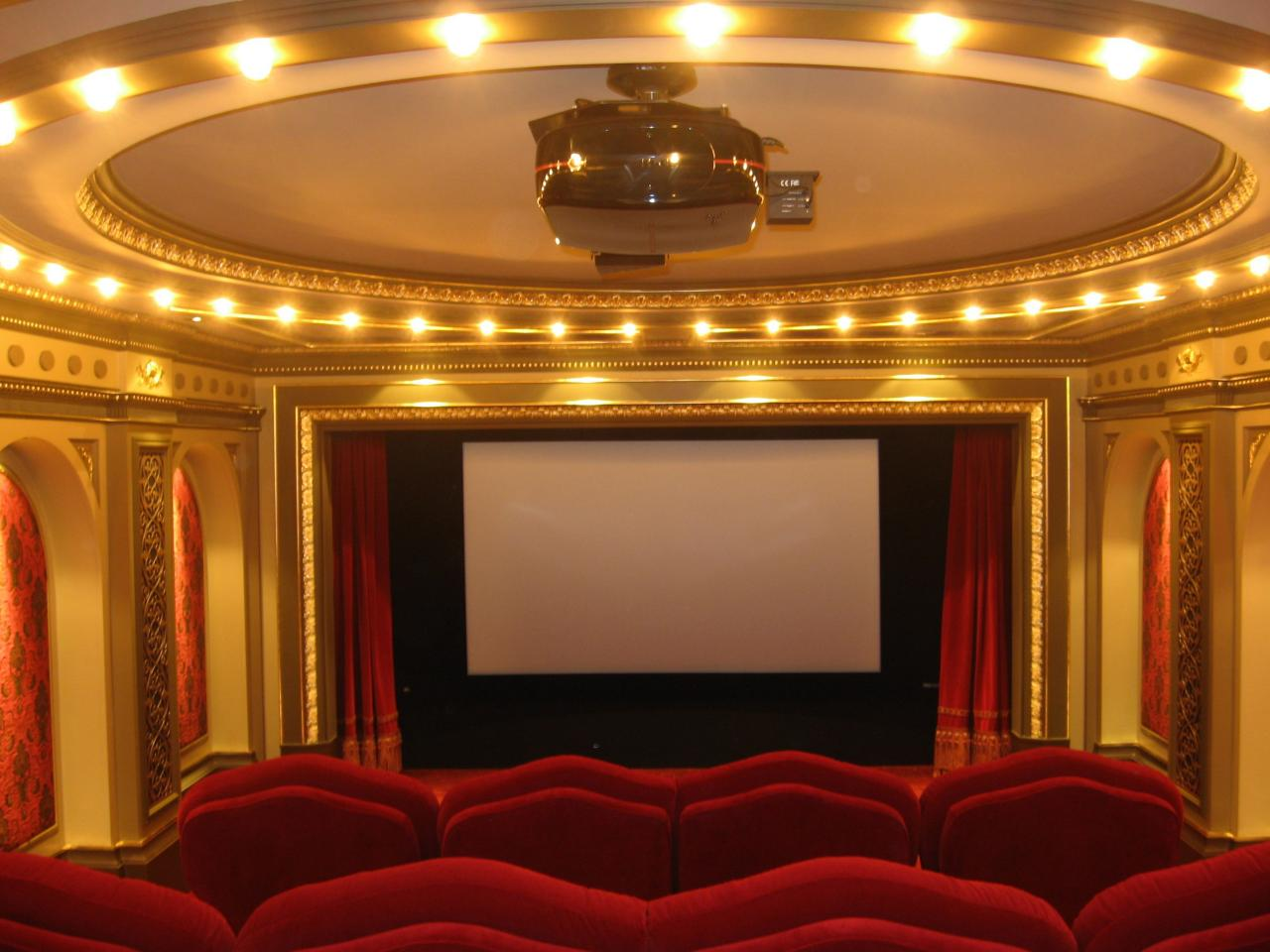 Ordinaire Related To: Designing Home Theater Decorating