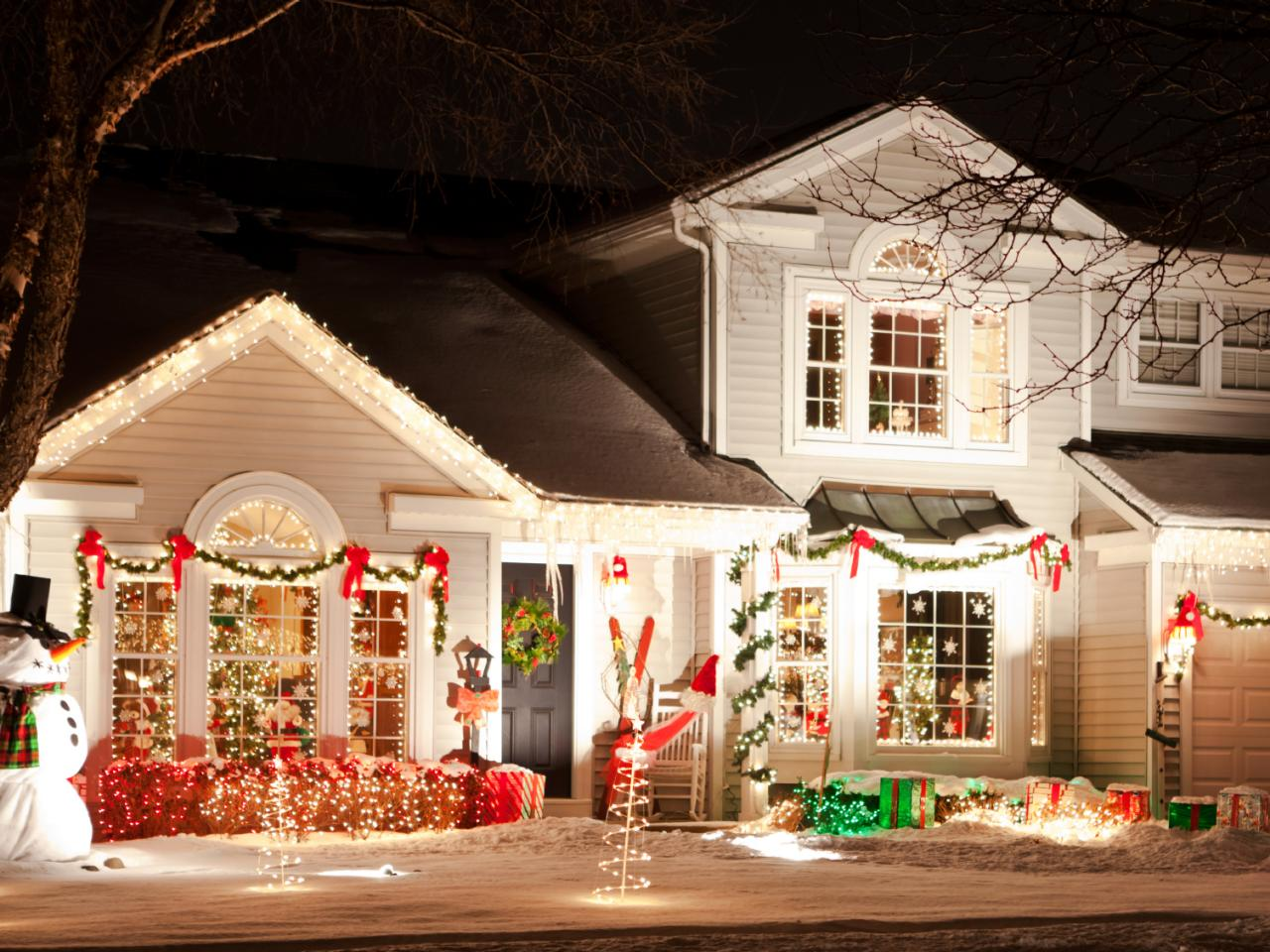 secret garden - How To Decorate A Ranch Style Home For Christmas