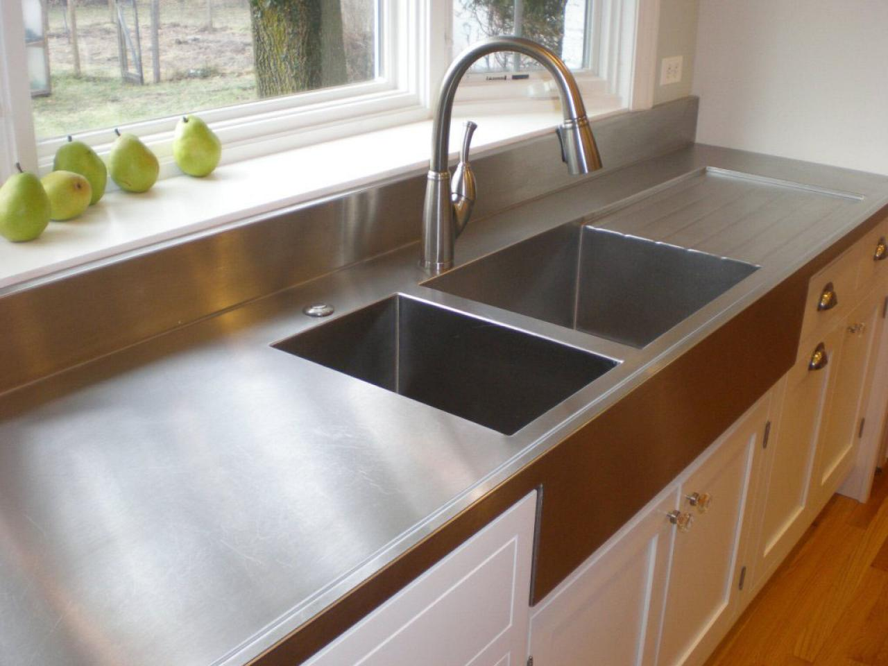 Choosing countertops stainless steel diy for Style kitchen countertops