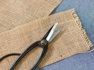 Burlap Wrap for Gifts
