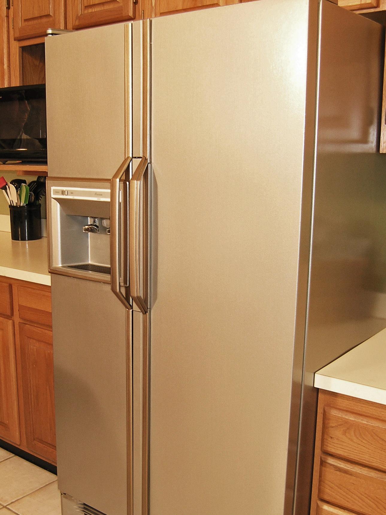 Transformation Nickle Stainless Steel Film REDO UPDATE Appliance Backsplash 12/'