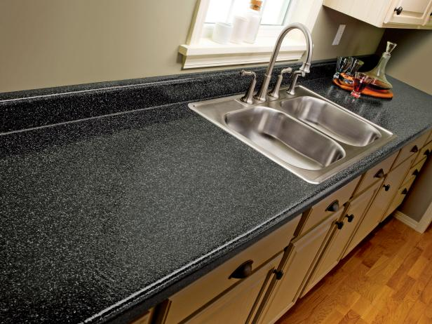 Ci Rustoleum Countertop Painted Black After S4x3