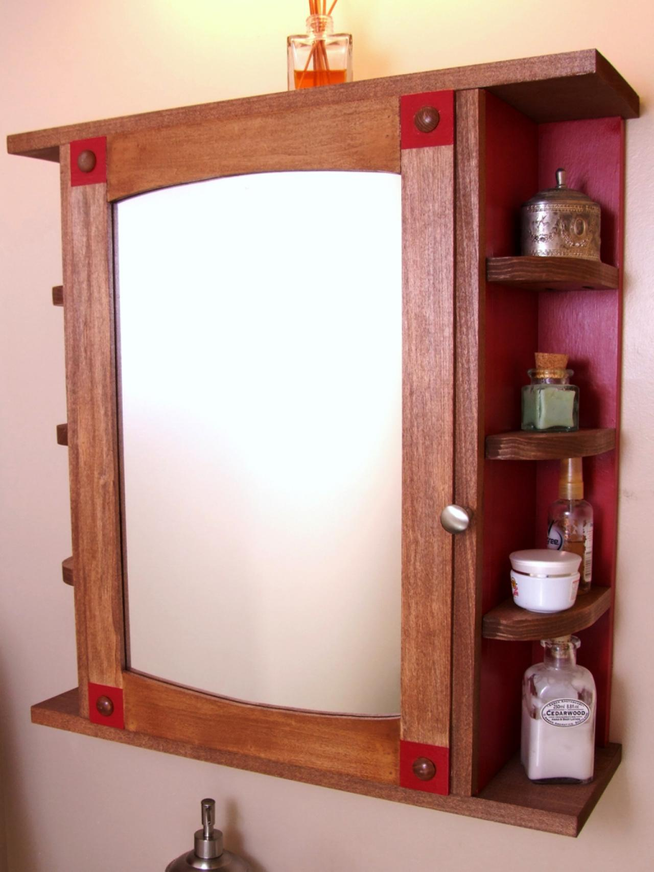 How To Build A Bathroom Medicine Cabinet How Tos Diy