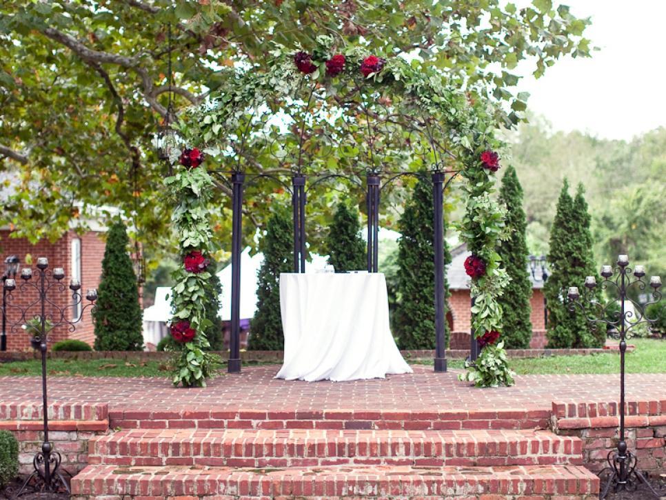 32 Diy Wedding Arbors Altars Aisles Diy