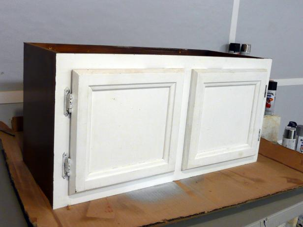 Upcycle Kitchen Cabinets Into A Storage Bench How Tos Diy