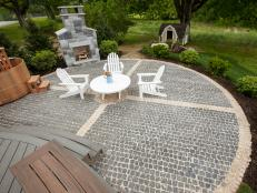Patio building diy ideas diy how to install a cobblestone system 6 steps solutioingenieria