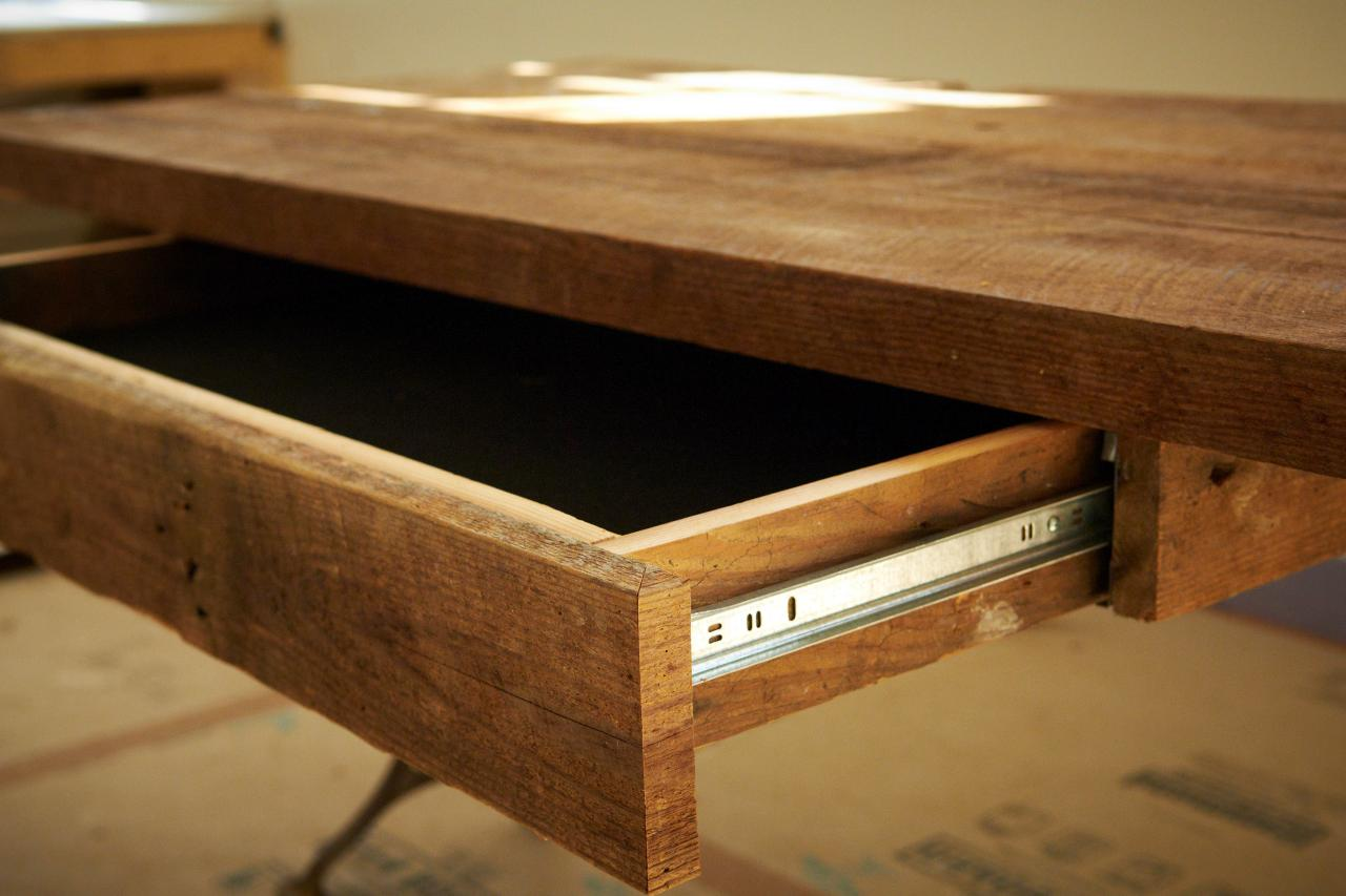 Make Desk Drawer (Optional)