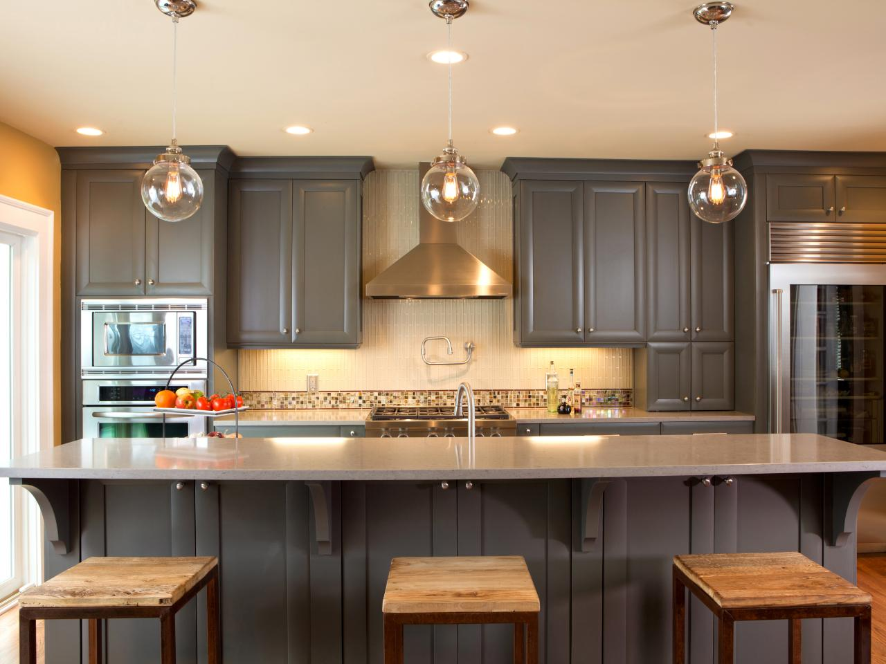 25 Tips For Painting Kitchen Cabinets | DIY Network Blog: Made + ...