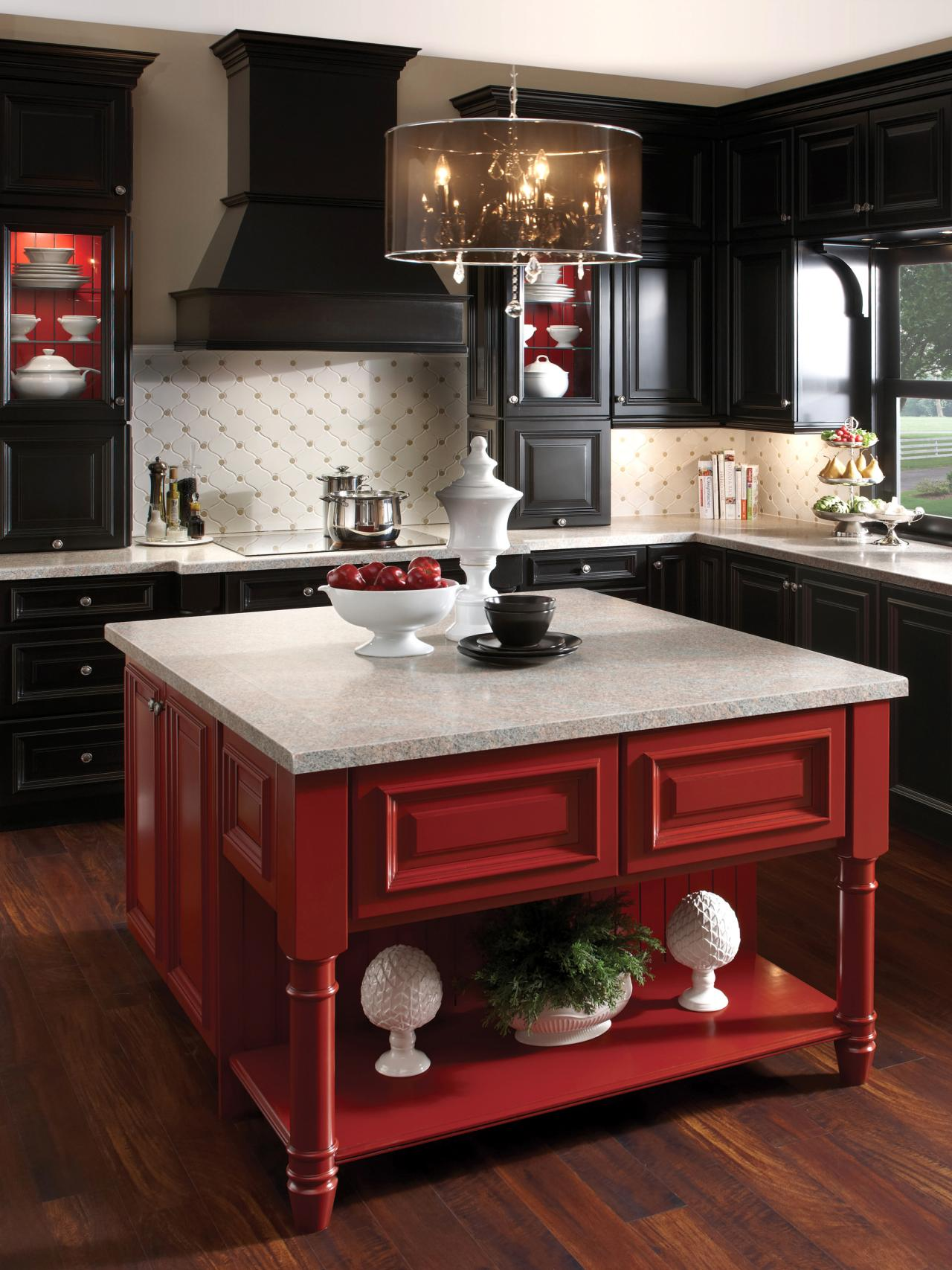 Twists On Classic Styles. Think Of A Cottage Kitchen ...