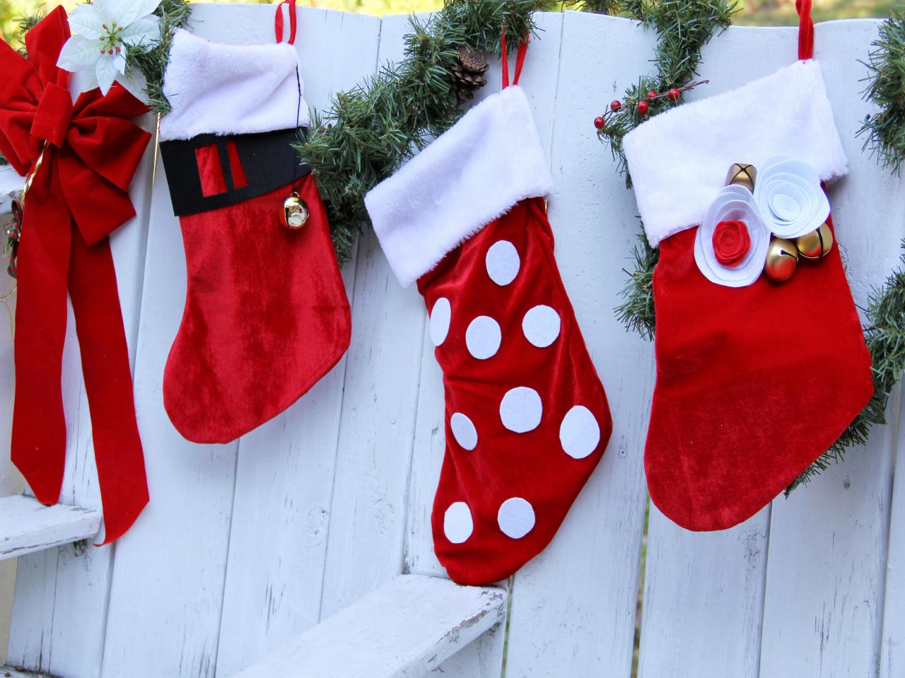 3 ways for kids to bling out store bought christmas stockings