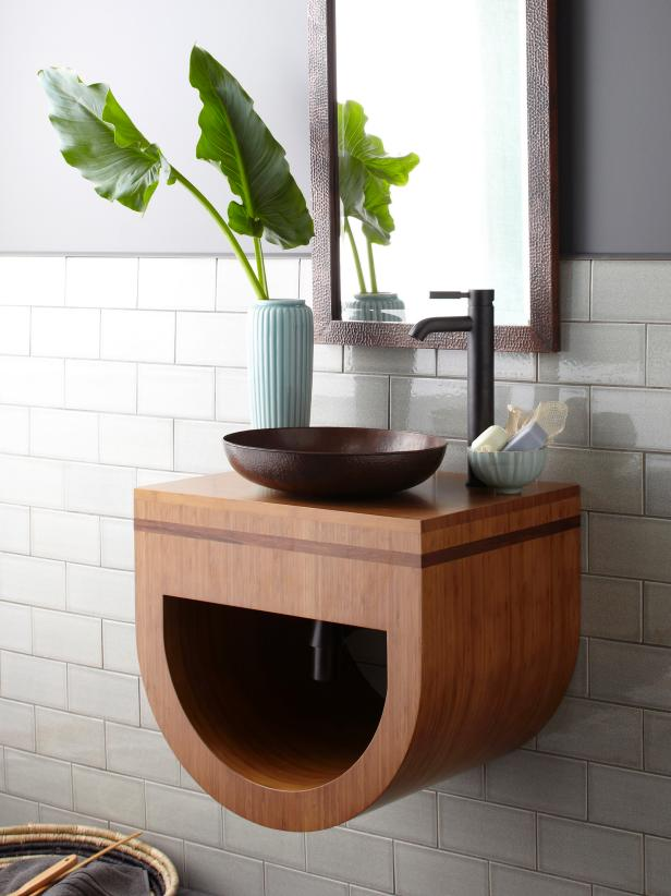 Shop This Look & Big Ideas for Small Bathroom Storage | DIY