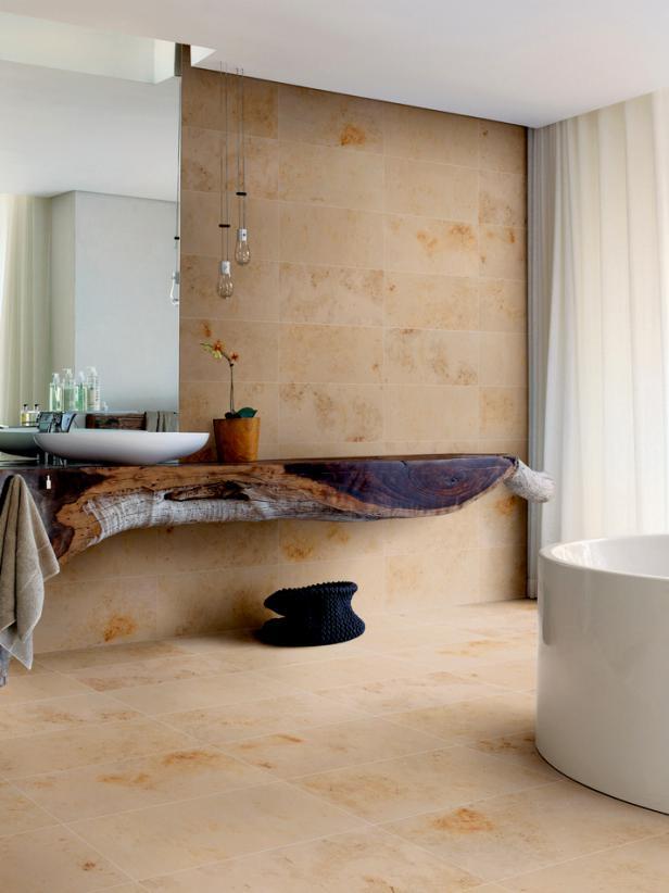 Bathroom design ideas diy for Latest floor tile trends
