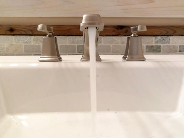 How to Replace a Bathroom Faucet | how-tos | DIY How To Change A Bathroom Faucet on change bathroom door, change bathroom vanity top, change bathtub faucet, change bathroom lights, change bathroom mirror, change bathroom paint, change bathroom countertop, change bathroom fan, change bathroom sink, change outdoor faucet,