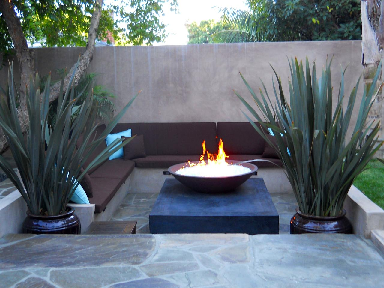 The Perfect Place For A Portable Fire Pit