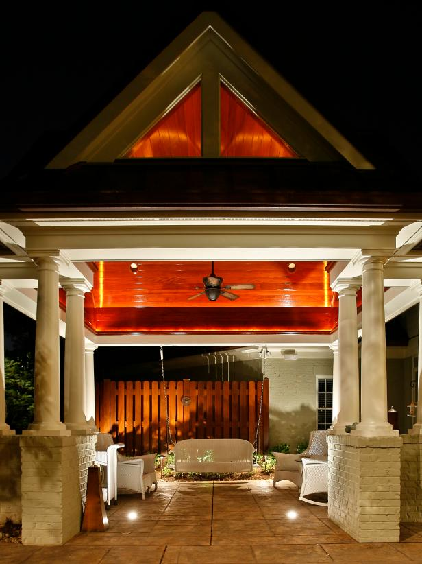 Charming Outdoor Landscape Lighting Ideas Part - 12: Dramatic Doors