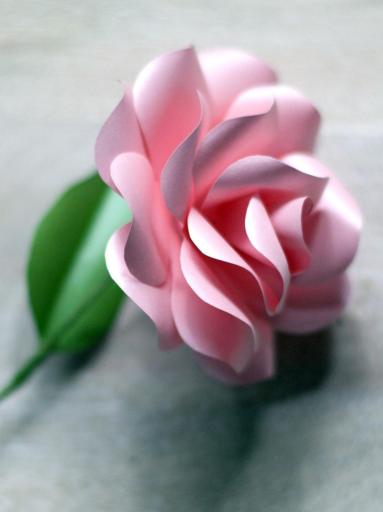 How To Make Paper Roses How Tos Diy