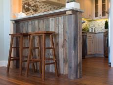 Custom-cladding a kitchen island or peninsula is a great way to make a unique statement and show off your DIY skills without breaking the bank.