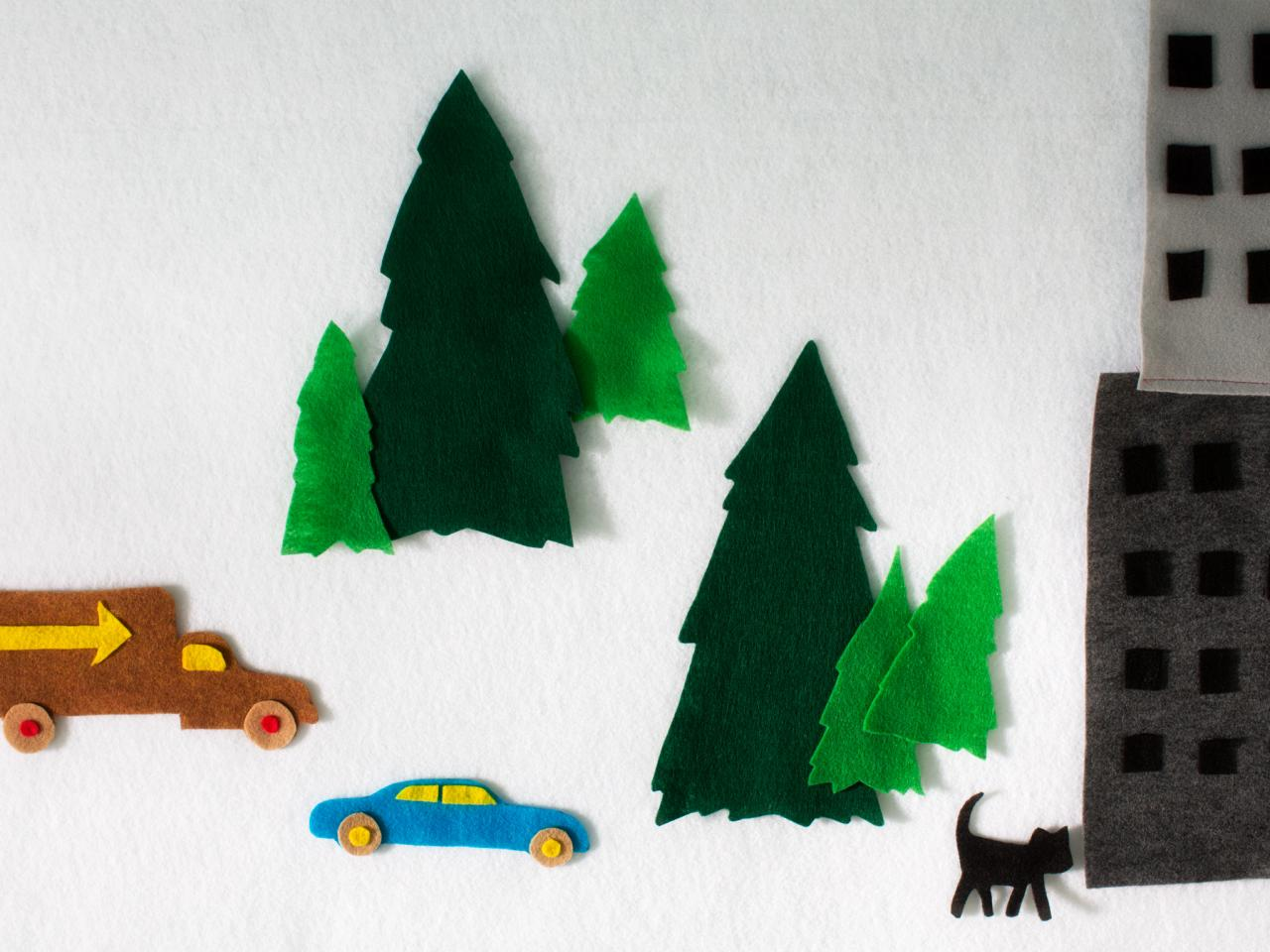 How To Make A Felt Activity Wall For Kids How Tos Diy