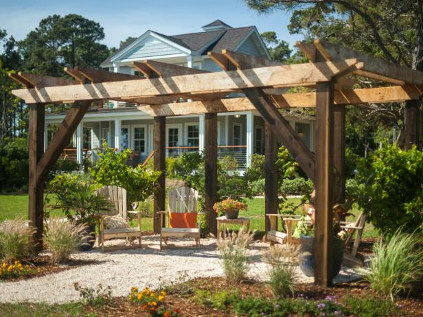 Pergola Pictures From Blog Cabin 2013 Diy Network Blog
