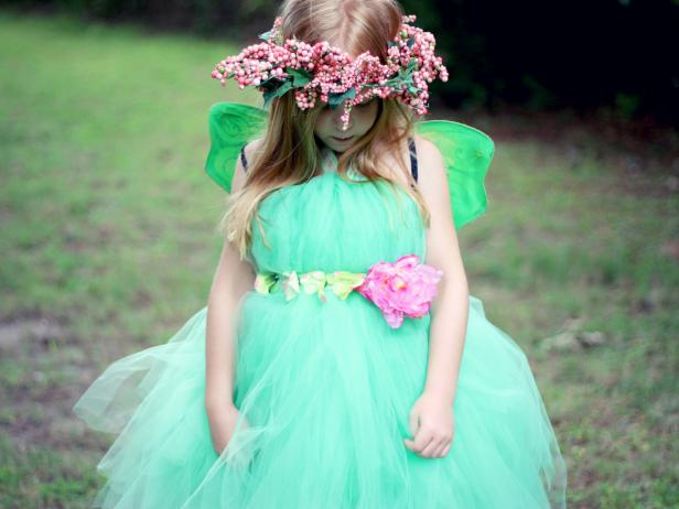Fairy Princess Halloween Costume & Easy DIY Kidsu0027 Halloween Costume: Fairy Princess | how-tos | DIY