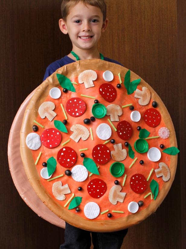 Large Pizza Pie Halloween Costume