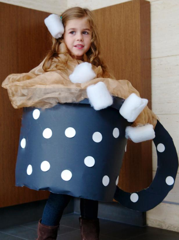 Diy Kids Cup Of Hot Chocolate Halloween Costume How Tos