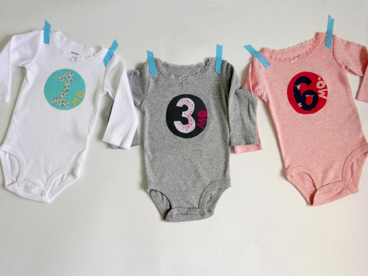 e7fb82554135 How to Add Fabric Numbers Appliques onto a Onesie